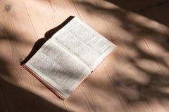 Boek op vloer Stock Afbeeldingen