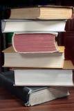 Boek-stapel Stock Afbeeldingen