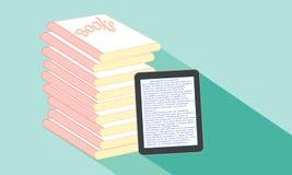 Boek of tablet Royalty-vrije Stock Afbeelding