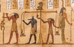 Boek van de Doden stock afbeeldingen