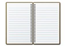 Boek van de nota 02 Royalty-vrije Stock Afbeelding