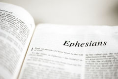 Boek van Ephesians Royalty-vrije Stock Foto's