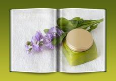 Boek van gemaakte product van Biolagical het naar huis Stock Fotografie