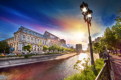 Boekarest Bucuresti Roemenië royalty-vrije stock fotografie