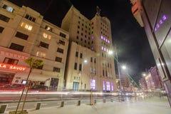 Boekarest - Calea Victoriei Stock Foto's