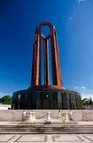 Boekarest - Carol Park Mausoleum stock fotografie