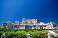 Boekarest - het Parlement paleis Royalty-vrije Stock Foto's
