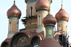 Boekarest - kerk Stock Afbeeldingen