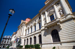 Boekarest - National Bank van Roemenië royalty-vrije stock foto's