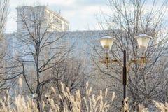 """Boekarest, Roemenië †""""10 Januari: Het Parlement van Boekarest op Januari Stock Afbeeldingen"""