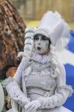 Boekarest, Roemenië - Juni 1, 2014: Stelt het Franse bedrijf van Mademoisellepaillette ` voor het SPEELGOED ` toont Royalty-vrije Stock Foto