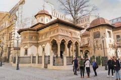 Boekarest, Roemeni? - Maart 16, 2019: royalty-vrije stock foto