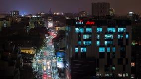 Boekarest timelapse, Roemenië stock footage