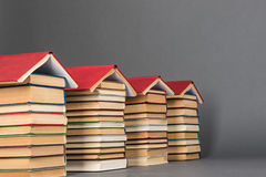 Boeken als vooruitzicht voor toekomstig succes royalty-vrije stock foto