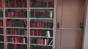Boeken, Boekenrek, Lezing, het Leren, Onderwijs stock footage