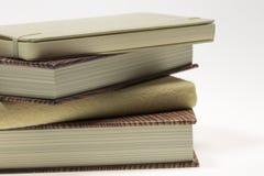Boeken bovenop elkaar Stock Foto