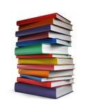 Boeken die op witte achtergrond worden geïsoleerd? Royalty-vrije Stock Afbeelding