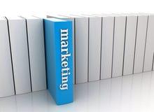 Boeken die van het onderwijs - de op de markt brengen royalty-vrije illustratie