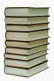 Boeken op de lijst. Stock Afbeelding