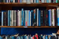 Boeken op vertoning Stock Afbeelding