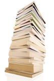 Boeken op wit Royalty-vrije Stock Foto's