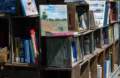 boeken voor verkoop Stock Afbeelding