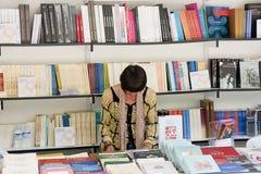 Boekenbeurs Royalty-vrije Stock Foto's