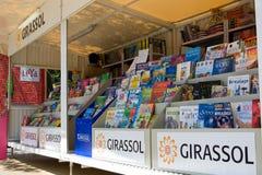 Boekenbeurs Lissabon Stock Afbeelding