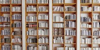 boekenrek Stock Foto's