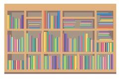 Boekenrek Royalty-vrije Stock Afbeeldingen