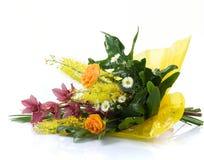Boeket van bloem Royalty-vrije Stock Afbeeldingen