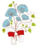 Boeket van bloemen vector illustratie