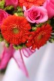 Boeket van bloemen Stock Afbeelding
