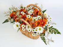 Boeket van bloemen Stock Foto