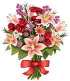 Boeket van bloemen Stock Foto's