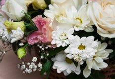Boeket van bloemen Royalty-vrije Stock Foto's