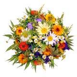 Boeket van bloemen van landbouwerstuin Royalty-vrije Stock Foto's