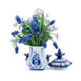 Boeket van de lentebloemen royalty-vrije stock afbeelding