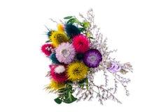 Boeket van droge bloemen Royalty-vrije Stock Foto's