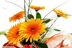 Boeket van gele bloemen Royalty-vrije Stock Fotografie