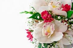 Boeket van huwelijksbloemen royalty-vrije stock afbeelding