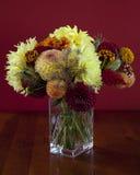 Boeket van kleurrijke bloemen Royalty-vrije Stock Afbeeldingen