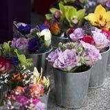Boeket van kleurrijke de lentebloemen royalty-vrije stock fotografie