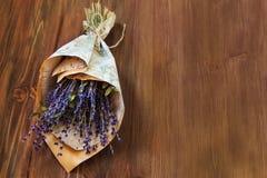 Boeket van lavendel Royalty-vrije Stock Afbeeldingen