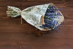 Boeket van lavendel Stock Fotografie
