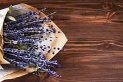Boeket van lavendel Royalty-vrije Stock Foto