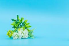 Boeket van mooie verse kunstmatige bloem royalty-vrije stock foto