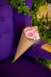 Boeket van roze gerbera Royalty-vrije Stock Foto's