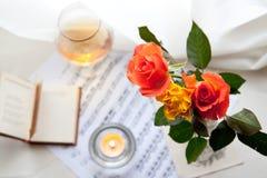 Boeket van rozen Stock Fotografie