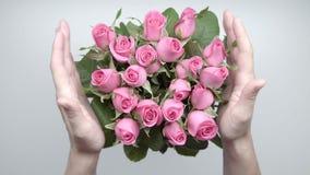 Boeket van rozen 14 stock videobeelden